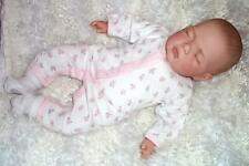 "Réaliste Sleeping 18"" reborn baby girl doll child Friendly magnétique mannequin ce Royaume-Uni"