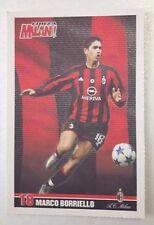 D28> Cartolina Forza Milan serie la rosa 2003/04 Marco Borriello