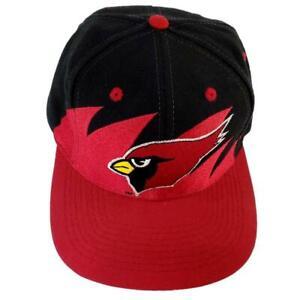 Arizona Cardinals Shark Tooth Logo Athletic Hat Vintage Pro Line NFL Snapback