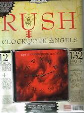 Classic ROCK Presents RUSH Clockwork Angels FANPACK: CD+Mag+Poster+Keyring @NEW@