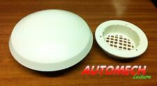 GENUINE HDK Large Mushroom Roof Vent, 180mm, Caravan and Motorhome.