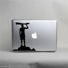 surfing sunset Macbook pro skin decal sticker