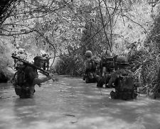 U.S. MILITARY MARINES VIETNAM WAR 8X10 MILITARIA COLLECTIBLE PHOTO PICTURE