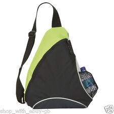 MONO STRAP BAG - TRIANGLE ONE STRAP RUCKSACK/BACKPACK - COLLEGE, SCHOOL, WORK