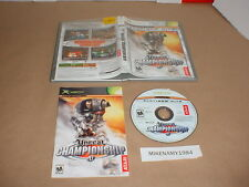 UNREAL CHAMPIONSHIP game complete w/ Manual (PH) for Microsoft XBOX