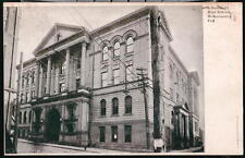 McKEESPORT PA High School Prelinen UDB Vtg Postcard Old PC