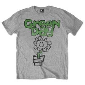 Green Day 'Flower Pot' T-Shirt �- NEW & OFFICIAL