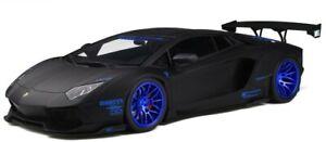 GTS12502 - Car Of Color Black Matt - Lamborghini Aventador lb-Works