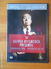 DVD ALFRED HITCHCOCK PRESENTA - TEMPORADA UNO - EPISODIOS 33-36 - CAJA SLIM (U4)