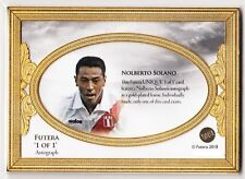 2018 Futera Unique 1 of 1 Autograph Auto Nolberto Solano Peru Newcastle 1/1