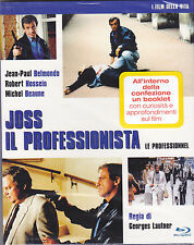 Blu-ray «JOSS IL PROFESSIONISTA ~ LE PROFESSIONNEL» con Jean Paul Belmondo 1981