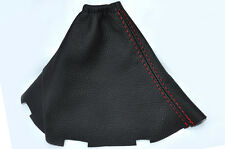 RED STITCH FITS TOYOTA AURIS REAL LEATHER MANUAL GEAR GAITER 2007-2011