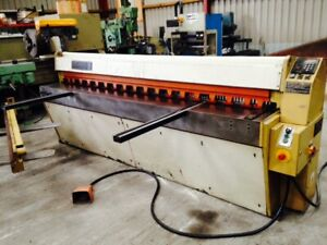 EDWARDS DD Guillotine - Service and repairs