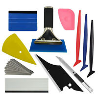 PRO Car Window Tint TUCK Tool Vinyl Felt Micro Squeegee Applicator Wrapping