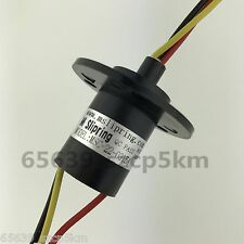 Slip Ring 3 Wires 15A 3 Phase 360 Degree Rotation Wind Turbine Power Generator