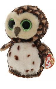 "Ty Beanie Boos Buddy 9"" Medium Sammy the Brown Owl Plush Stuffed Animal Toy"