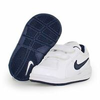 Nike Pico 4 (TDV) Infant Toddler BOYS  Leather Trainers  454501-101 3.5 - 9.5