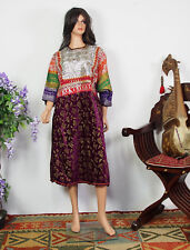 Antik nómadas vestido Antique Banjara Woman's embroidered dress Sindh pakistán 18b