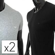 ARMANI Herren-T-Shirts aus Baumwolle mit Stretch