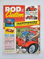 Rod and Custom magazine February 1962 Roadster Modelrama