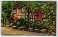 Vintage Postcard Library Onteora Park Tannersville Catskill Mountains NY