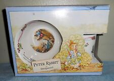 Wedgwood - 1991 Peter Rabbit 3 - Piece Gift Set [Vhtf] (Nib)