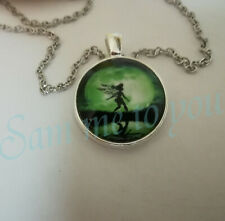 Ring, Fairy, Fantasy Jewellery Uk Fast P&P Moon Fairy Pendant & Necklace or Key
