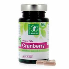 Cranberry bio complément alimentaire pour infections urinaires 60 gueules /CDUD