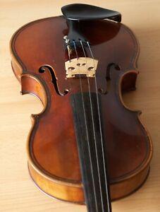 old violin 4/4 geige viola cello fiddle label STEFANO SCARAMPELLA 976