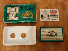 NINTENDO Game and Watch 1982 **GREEN HOUSE**  boxe!!!