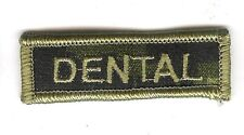 Obsolete Modern Canadian Army CADPAT DENTAL Title