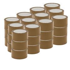 36x Ruban Brown Havane SILENCIEUX Bande Roll 66m x 48 Emballage Premium Quality