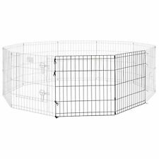 "Midwest Foldable Metal Exercise Pen Height 24"" (for dogs up to 16"" tall)"