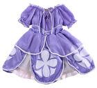 Appariscente Bambine Viola Sofia Costume Da Principessa,per Feste 2-7anni