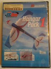 Hangar 9 FS One R/C Flight Simulator Hangar Pack 1 HANS4010 V 1.0 NIB RARE 2007