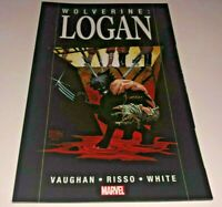 Wolverine Logan TPB 2009 Marvel Knights BRIAN K. VAUGHN Eduardo Risso 1st Print