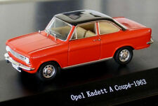 wonderful modelcar OPEL KADETT A COUPE 1962 - red/black - scale 1/43 - ltd.ed