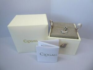 Clogau Gold Silver & Rose Gold Butterfly Charm RRP £129
