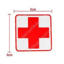 Jtg Medic Cross Paramedic 3D Tactical Army Morale Pvc Rubber Hook Loop Patch CA