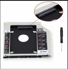 For Apple Macbook Pro Unibody 2nd HDD SSD SATA Hard Drive Caddy Optibay 9.5mmPU#