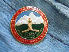 Anstecknadel Olympia South Asia Federation Games Kathmandu Nepal 1984 Olympic
