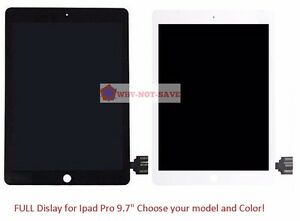 """Full LCD Touch Glass Digitizer Screen Display Replacement Part for Ipad Pro 9.7"""""""