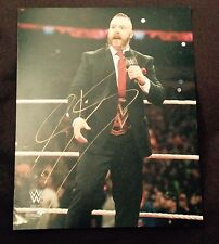 wwe sheamus signed autographed 8x10 photo in ring proof
