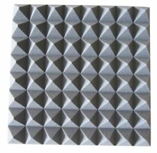 New Jersey Sound Acoustic Foam Tiles (Style Pyramid Grey)