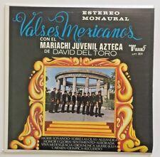 VERY RARE Valses Mexicanos Con El Mariachi Juvenil Azteca Vinyl LP World