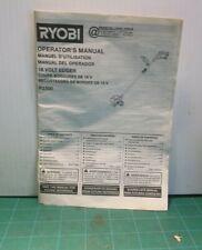 Ryobi P2300 18V Edger Operator's Manual (Manual Only)