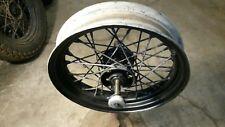 """1949 Date Knucklehead Star hub wheel  Panhead 16"""" OEM KH Rim Vintage Harley"""
