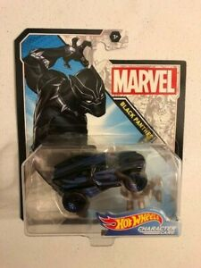 Hot Wheels Character Cars Black Panther---Ships Fast