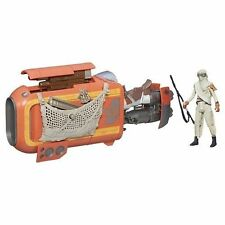 Star Wars The Force Awakens 3.75-Inch Vehicle Rey's Speeder Bike (Jakku) - NEW