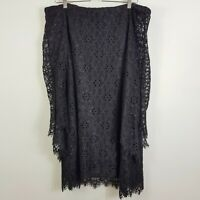 [ SCANLAN & THEODORE ] Womens Black Lace Dress RRP$800  | Size AU 10 or US 6